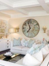 Creative diy beachy living room decor ideas (2)