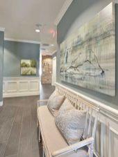 Creative diy beachy living room decor ideas (32)