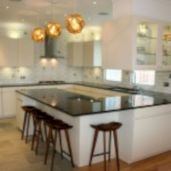 Inspiring u shaped kitchen ideas with breakfast bar (15)