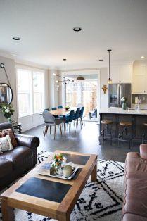 Mid century modern apartment decoration ideas 39
