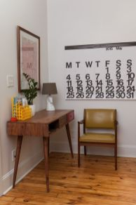 Mid century modern apartment decoration ideas 43
