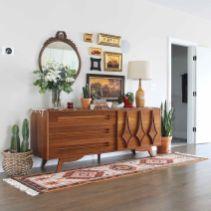 Mid century modern apartment decoration ideas 74