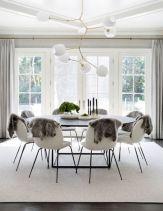 Mid century scandinavian dining room design ideas (14)