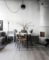 Mid century scandinavian dining room design ideas (15)