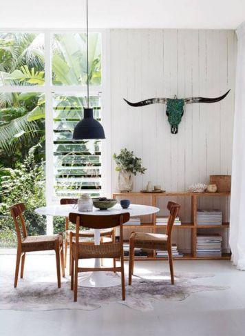 Mid century scandinavian dining room design ideas (25)