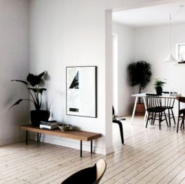 Mid century scandinavian dining room design ideas (3)