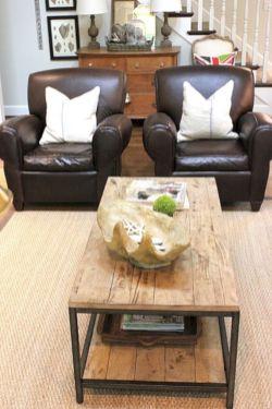 Modern leather living room furniture ideas (29)