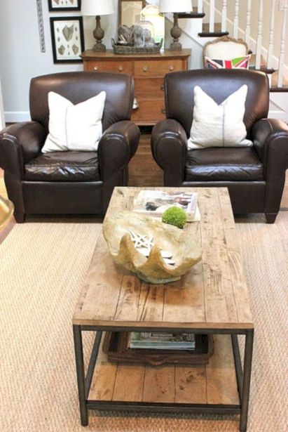 Modern leather living room furniture ideas (29)