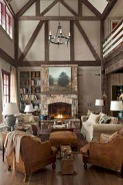 Modern leather living room furniture ideas (3)