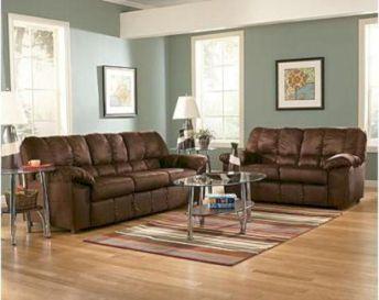 Modern leather living room furniture ideas (32)