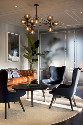 45 Contemporary Living Rooms With Sectional Sofas Pictures: 70 Modern Leather Living Room Furniture Ideas