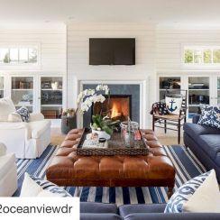 Modern leather living room furniture ideas (49)