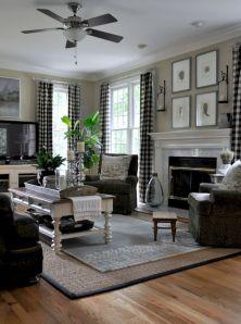 Rustic living room curtains design ideas (12)
