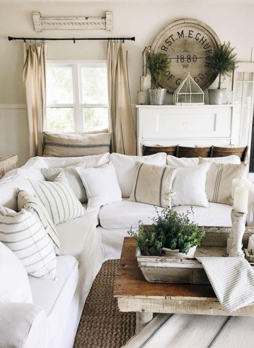 Rustic living room curtains design ideas (19) - Round Decor