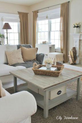 Rustic living room curtains design ideas (39)