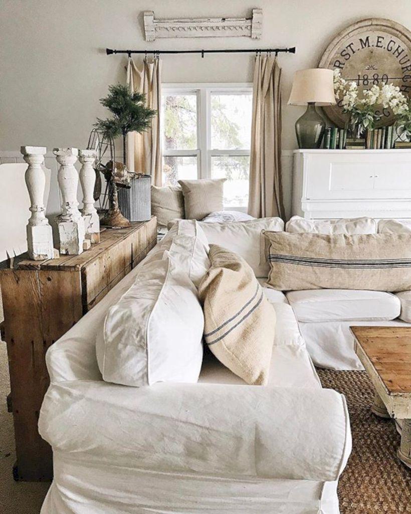 Rustic living room curtains design ideas (50) - Round Decor