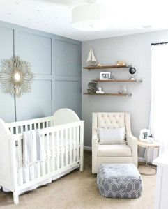 Simple baby boy nursery room design ideas (1)