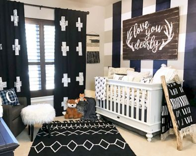 Simple baby boy nursery room design ideas (13)