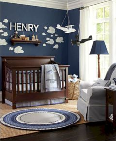 Simple baby boy nursery room design ideas (29)