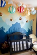Simple baby boy nursery room design ideas (31)