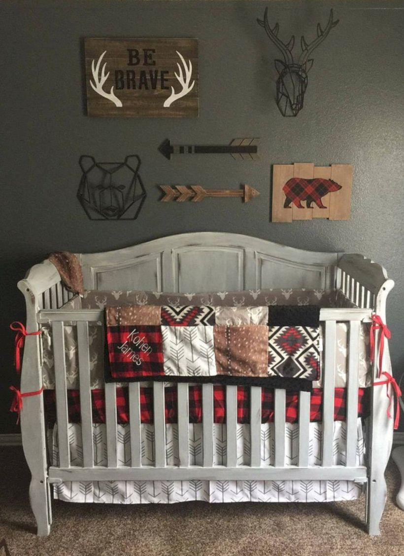 Simple baby boy nursery room design ideas (50)