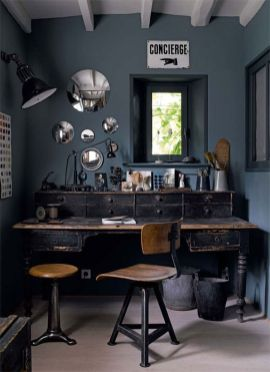 Small modern industrial apartment decoration ideas 33