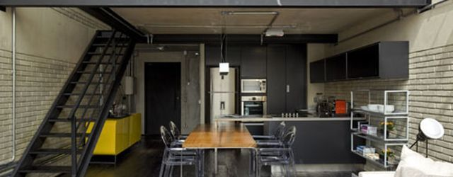 Small modern industrial apartment decoration ideas 61