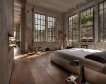 Small modern industrial apartment decoration ideas 63