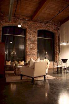 Stylish dark wood floor ideas for your living room (34)