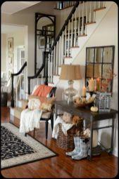 Stylish dark wood floor ideas for your living room (48)