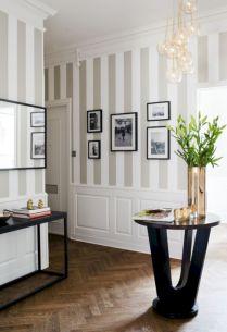 Stylish dark wood floor ideas for your living room (52)
