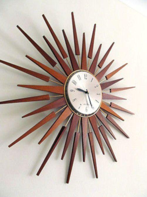 Unique wall clock designs ideas 11