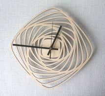 Unique wall clock designs ideas 12