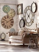 Unique wall clock designs ideas 34