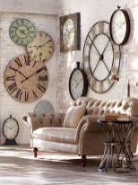 Unique wall clock designs ideas 34