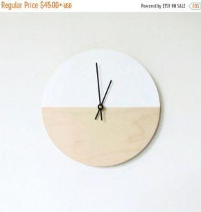 Unique wall clock designs ideas 57