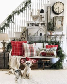 Adorable christmas living room décoration ideas 18 18