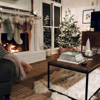 Adorable christmas living room décoration ideas 24 24