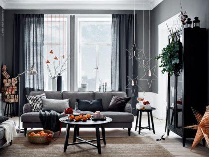 Adorable christmas living room décoration ideas 34 34