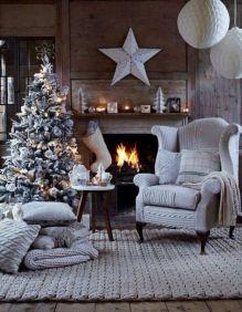 Adorable christmas living room décoration ideas 41 41