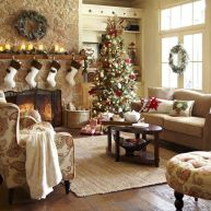 Adorable christmas living room décoration ideas 48 48
