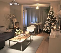 Adorable christmas living room décoration ideas 53 53
