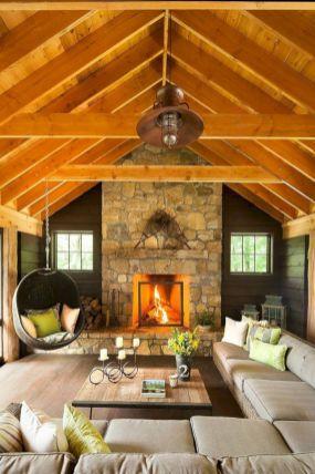 Adorable country living room design ideas 02
