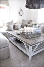 Adorable country living room design ideas 10