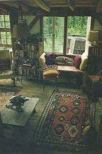 Adorable country living room design ideas 15