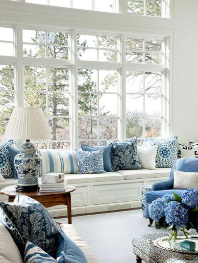 Adorable country living room design ideas 19