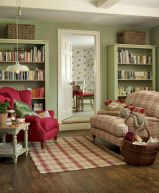 Adorable country living room design ideas 20