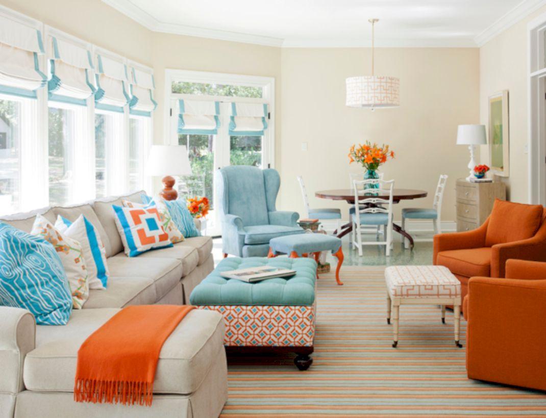 Adorable country living room design ideas 33