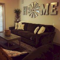 Adorable country living room design ideas 47