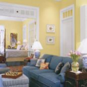 Adorable country living room design ideas 53
